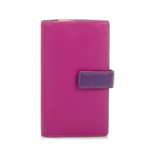 [Mywalit] Tab Wallet with zipped compartment - Sangria Multi (1224-75)
