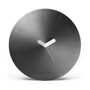 [LEXON] CONIC WALL CLOCK - gun - LR142X