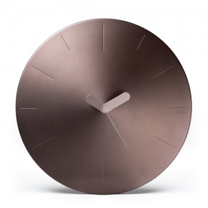 [LEXON] CONIC WALL CLOCK - brown - LR142m