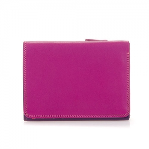 [Mywalit] Medium Tri-fold Wallet / Sangria Multi (106-75)